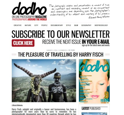 harry fisch en dodho magazine