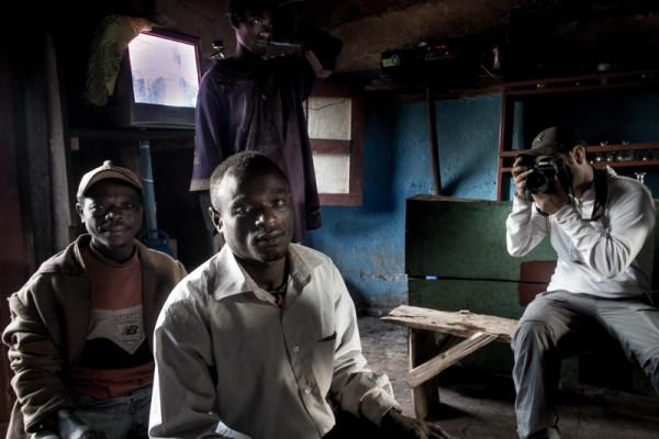 Photographer in Ethiopia