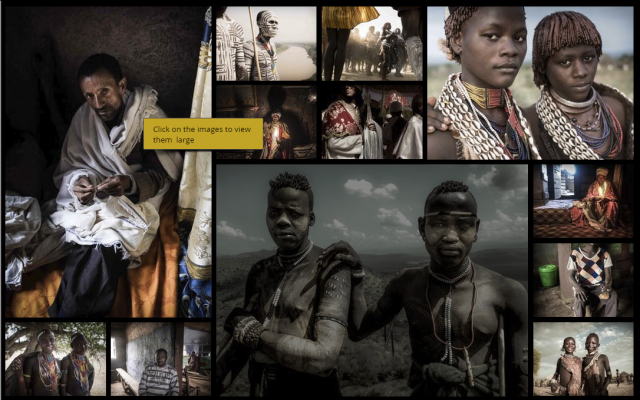 People of Ethiopia by Harry Fisch
