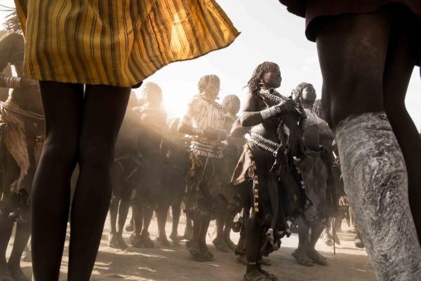Bull Jumping at Ethiopia